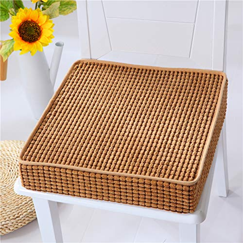 GJBHD Square Thicken Chair Cushion,not-skid Sponge Seat Cushion Chair Pillow Chair Pads Booster Cushions For Indoor Outdoor-c 49x49cm(19x19inch)