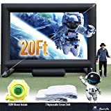 20FT Inflatable Mega Movie Screen Outdoor - Front and Rear Projection - Portable