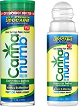Hemp Seed Oil Pain Relief Roll On - Topical Lidocaine Gel - Lidocaine Roll On Pain Reliever - Stop Pain Roll On Extra Strength - Arnica Roll On - Hemp Oil Roll On For Pain Relief - CANNANUMB