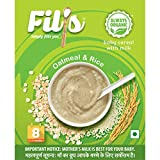 Fil's Organic Baby Cereal with Milk, Oatmeal and Rice