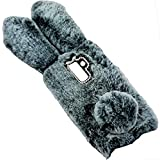 LeEco Le 2 Pro/S3 Art Case, Handmade Fluffy Villi Rabbit