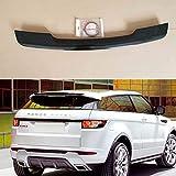 ABS Coche Alerón Trasero para Range Rover Evoque 2010–2015, Car Rear Spoiler Cola Lip ala Accesorios, Auto Trunk Techo Decorativos