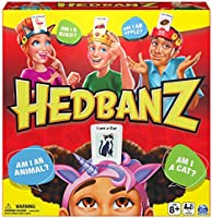 Hedbanz Picture Guessing Board Game New Edition, for Families and Kids Ages 8 and up