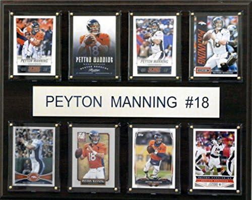 NFL Denver Broncos Peyton Manning 8 Card Plaque 12 x 15 Inch product image