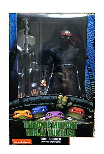 Teenage Mutant Ninja Turtles (1990 Movie 7 inch Action Figure: Foot Soldier with Bladed Weaponry