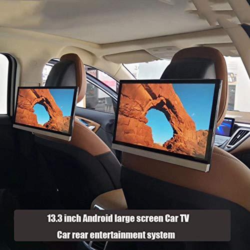 13,3-Zoll-Dual-Paket Android großer Bildschirm Auto-TV Auto-Fond-Entertainment-System Auto-Kopfstütze Bildschirm-Monitor 4G