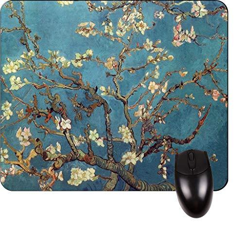 Vincent Van Goghs Mandelzweige in voller Blüte, San Remy 1890 - Vincent Willem Van Gogh / Postimpressionist / Postimpressionismus / Niederländisch / Niederlande / Frankreich / Französisch / Painter-Sq