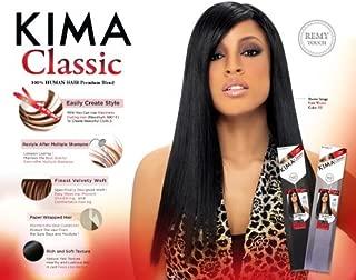 Kima Classic Yaki Weave (18 inches, 4 (Medium Brown)) by Harlem 125