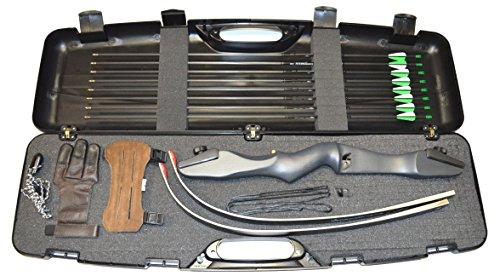 Bogenset Einsteigerset Recurvebogen Ragim Matrix Evo mit Koffer und Carbonpfeilen