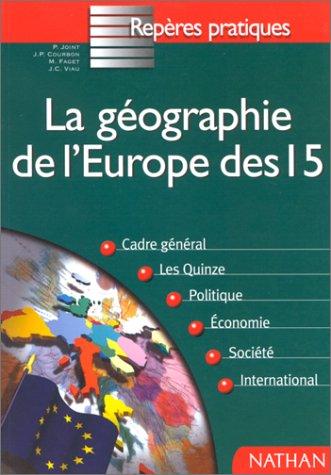 GEOGRAPHIE EUROPE DES 15