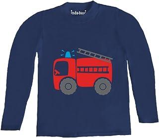 Dumper Truck Inda-Bayi Baby-Toddler-Kids Cotton Long Sleeve T Shirt