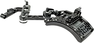 CAMTREE Flexible Camera Shoulder Mount Support for DSLR DV Camera BMCC BMPC Sony Panasonic Camcorder 15mm Rail Rod Support...