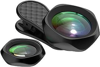 LIEQI JAPAN F-520 スマホ用カメラレンズ 広角レンズ iphone セルカレンズ メーカー保証12ヶ月付き (ブラック)