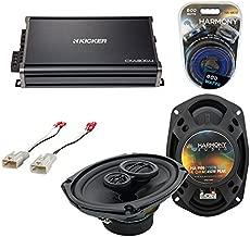 Compatible with Toyota FJ Cruiser 2007-2014 Factory Speaker Upgrade Harmony R69 & CXA300.4 Amp (Renewed)