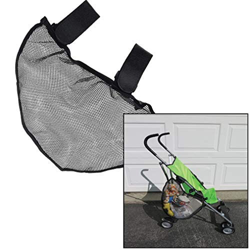 Evelots Stroller Big Storage Bag-Side Sling-Velcro Easy Attach-Toys/Phone/Wallet