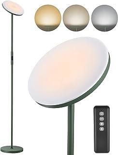 Anten Lampadaire LED 30W Matcha Vert à Intensité Variable | Lampadaire avec Télécommande Dimmable 3000K/4000K/5000K | Bout...
