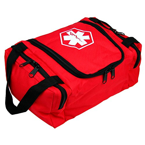 Dixie EMS Dixigear Empty First Responder II Bag 10.5' x 5' x 8' - Red