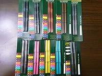 Monteverde International万年筆インクカートリッジ–Assorted Colors–12パックof 6