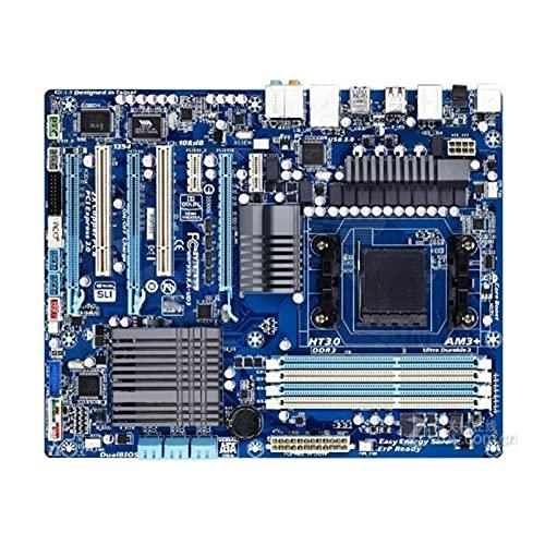 Scheda Madre Desktop Fit for Gigabyte GA-990XA-UD3 990XA-UD3 Socket Fit for AMD 990FX Scheda Madre Desktop AM3 AM3 + DDR3(Color:A)