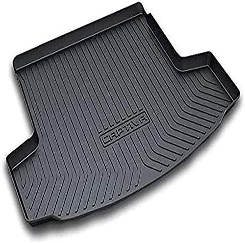 Alfombrilla para maletero de coche, para Chevrolet Captiva 2010-2018 goma antideslizante impermeable a prueba de polvo a prueba de arañazos protección de maletero accesorios de