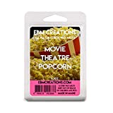 Movie Theatre Popcorn - July Scent Of The Month - Scented All Natural Soy Wax Melts - 6 Cube Clamshell 3.2oz Highly Scented!