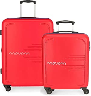 MOVOM Luggage Set, Red, 69