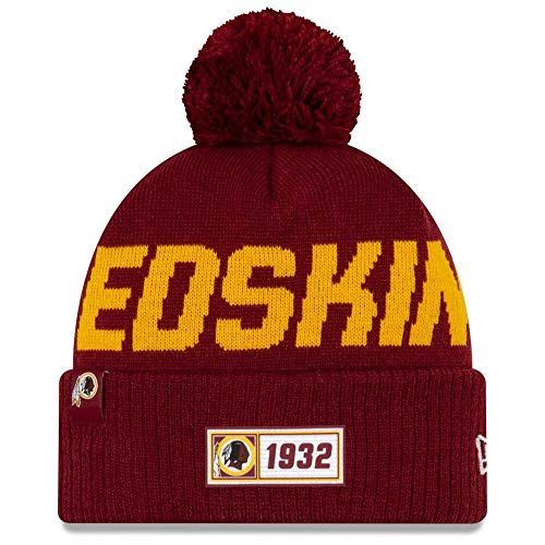 New Era American Football NFL Teamsport Sideline Beanie Winter Mütze Washington Redskins 9746 OSFM