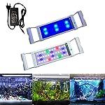 Aufun-Aquarium-Beleuchtung-6W11W18W25W32W-Aquariumbeleuchtung-2-Lichtmodi-Aquariumlampe-mit-Verstellbarer-Halterung-fr-Aquarium-Blau-Wei-Licht-Rot-Grn