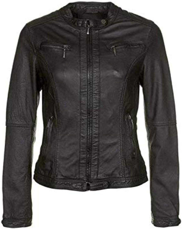 New Fashion Style Women's Leather Jackets Black G47_
