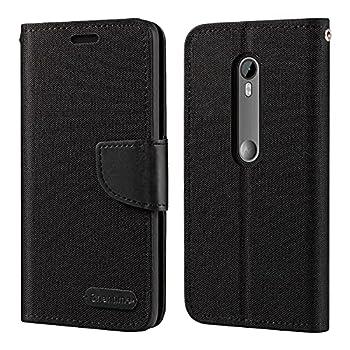 Motorola Moto G3 Case Oxford Leather Wallet Case with Soft TPU Back Cover Magnet Flip Case for Motorola Moto G3