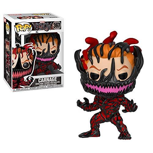 Funko 33073 POP Bobble: Marvel: Marvel Venom: Carnage/Cletus Kasady