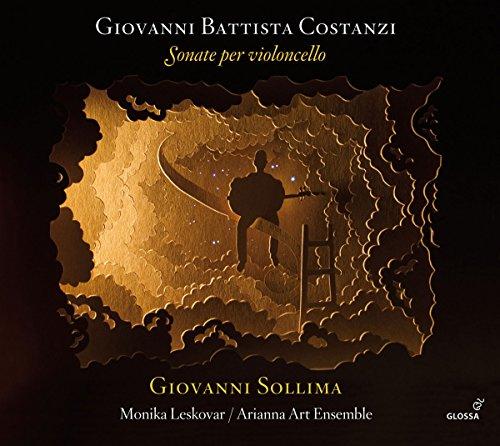 Monika Leskovar (Cello): Costanzi: Sonate per Violoncello (Audio CD)