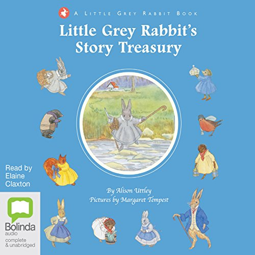 Little Grey Rabbit's Story Treasury audiobook cover art