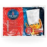 THE HEAT COMPANY Chauffe-Mains XL - 10 pièces - EXTRA CHAUD - Chaufferettes Mains XL - 24 heures de chaleur - chaleur immédiate - autochauffante - purement naturel