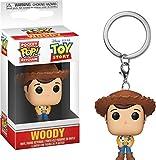 Funko 37018 - Llavero de Bolsillo: Toy Story: Woody, Multi