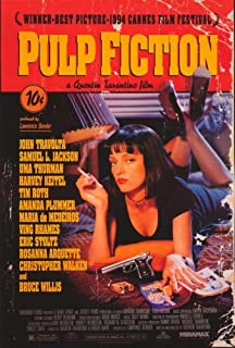 pulp fiction 27x40 movie poster