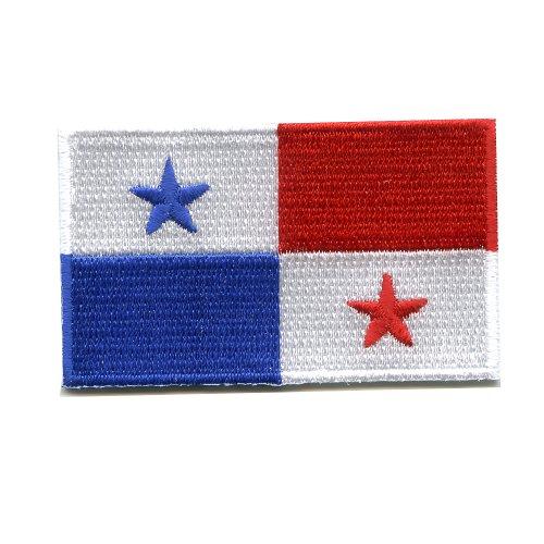 Panama Panamakanal Santiago Karibik Flag Flagge Patch Aufnäher Aufbügler K-38