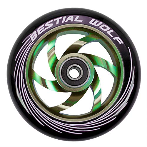 TWISTER-110-RAINBOW Rueda Bestial Wolf 110 mm para patinetes Pro Scooters Ideal para Parck y Freestyle