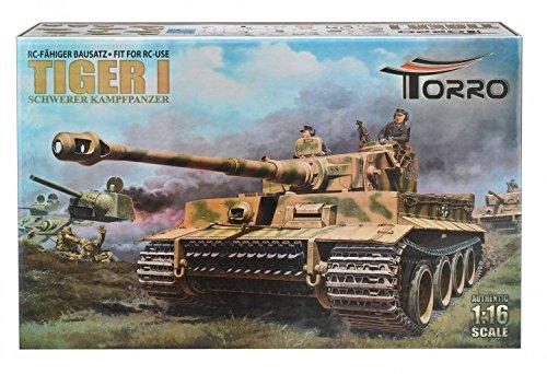 TORRO 501 - 3-in-1 RC fähiger Bausatz Tiger I