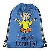 La compra de hilo y el uso de ellos son dos diferentes aficiones tejer ganchillo jersey Hoo lazo bolsa de deporte Fitn bolsa de viaje bolsa de regalo