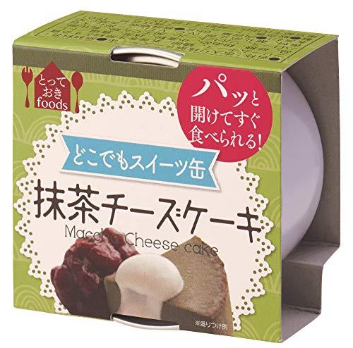 トーヨーフーズ どこでもスイーツ缶 抹茶のチーズケーキ ミニ 65g×24個