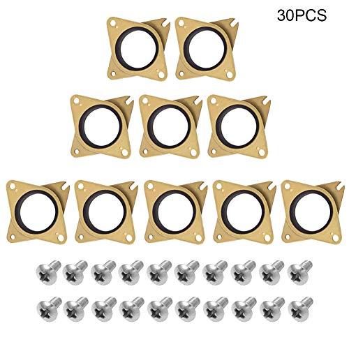 Dastrues 5/10PCS Stepper ammortizzatori di Vibrazione di Gomma con Viti per creality CR-1010s Stampante 3D 10pcs
