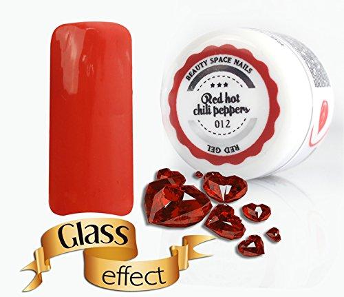 Red Line – Gel UV coloré, 5 ml, 20 nuances de rouge - Pour manucure et nail art red hot chili peppers