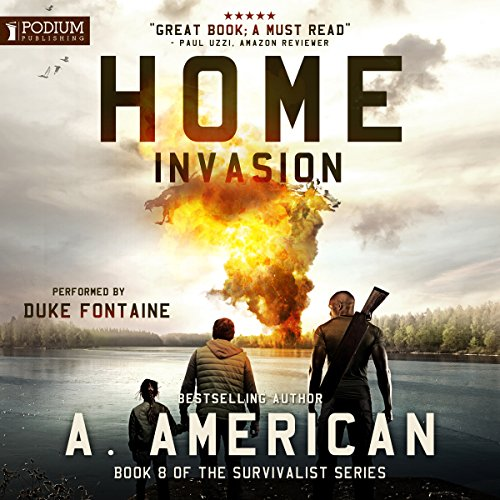 Home Invasion audiobook cover art