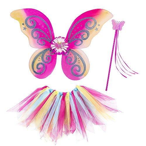 WIDMANN Fatina Fantasy Tutu Ali Bacchetta Magica Costume Party E Carnevale Gioca 169