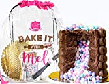 Bake it With Mel - Chocolate Cake Surprise Baking Activity Kit for Chefs, Events, or Parties. STEM Gift for Kids and Adults. DIY Baking Kit Complete with Recipe, Measured Ingredients, and Utensils