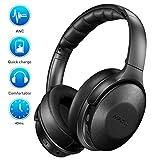 Mpow H17 Noise Cancelling Kopfhörer, Bluetooth Kopfhörer Over Ear mit Schnellladung, [Bis zu 40...