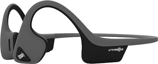 Aftershokz AS650SG Air Open Ear Wireless Bone Conduction Headphone, Slate Grey