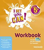 Anglais 5e I bet you can! - Workbook de Michelle Jaillet