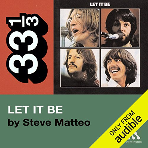 The Beatles' Let It Be (33 1/3 Series)  cover art